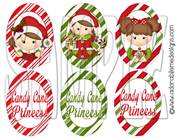 Candy Princess Oval Shrinky Dink Images